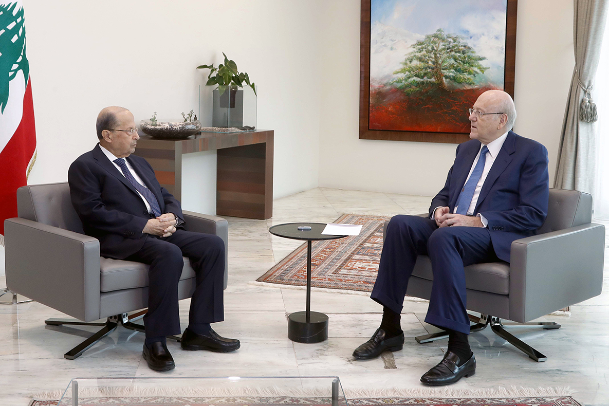 Hezbollah announce new oil shipment for Lebanon as Mikati pleads for IMF bailout