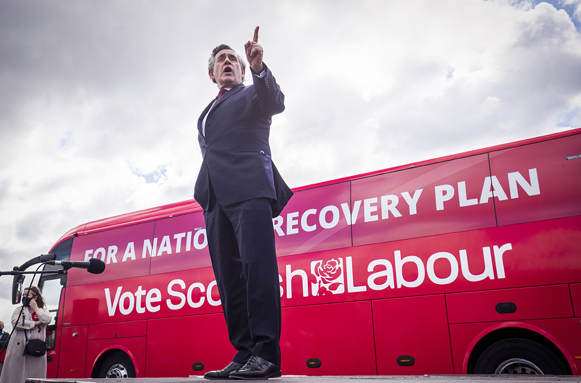 Gordon Brown launching fresh campaign to keep Scotland in UK following SNP's latest election victory