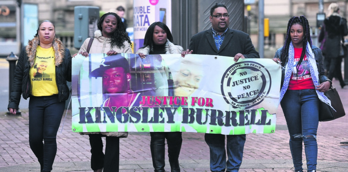 Police officer guilty of gross misconduct over Kingsley Burrell's ...