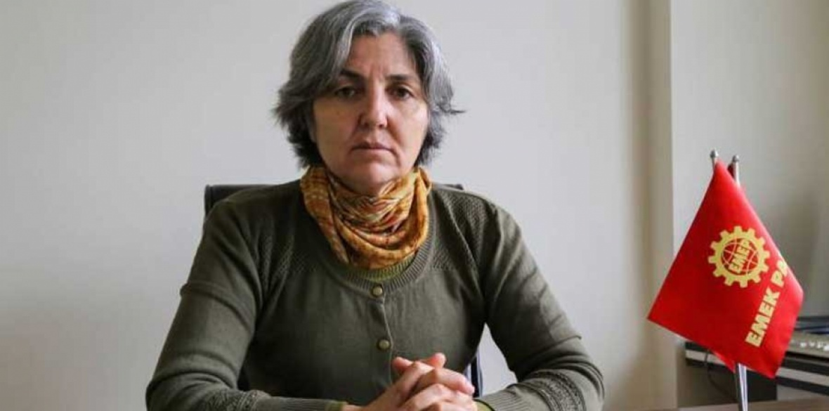 Chairwoman of the Turkish Labour Party (Emep) Selma Gurkan Photo: Evrensel