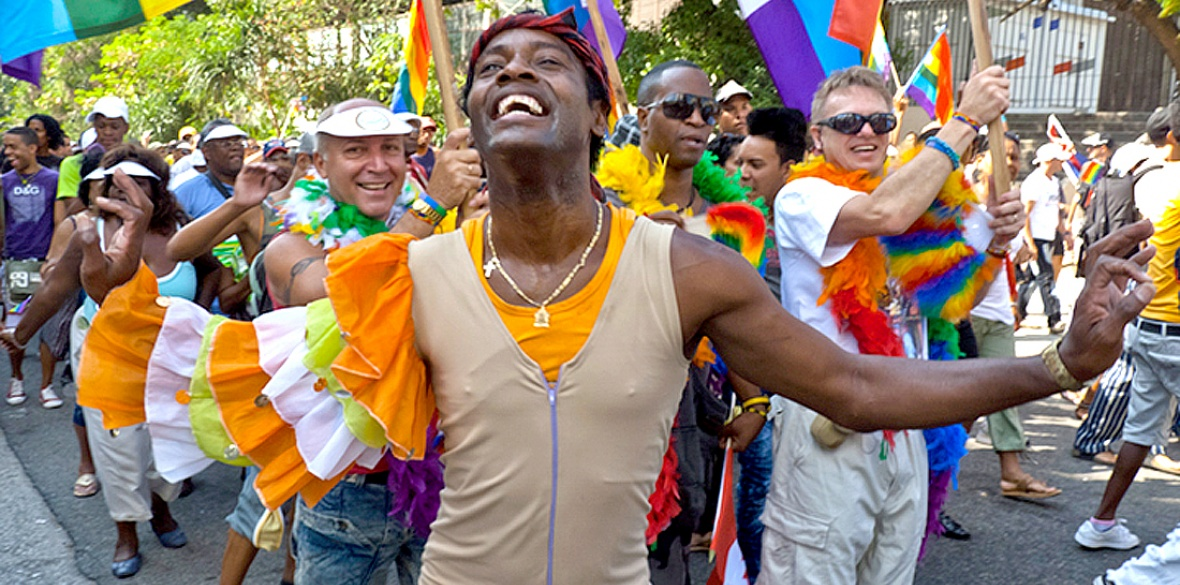 Gay Pride march in Havana, Cuba