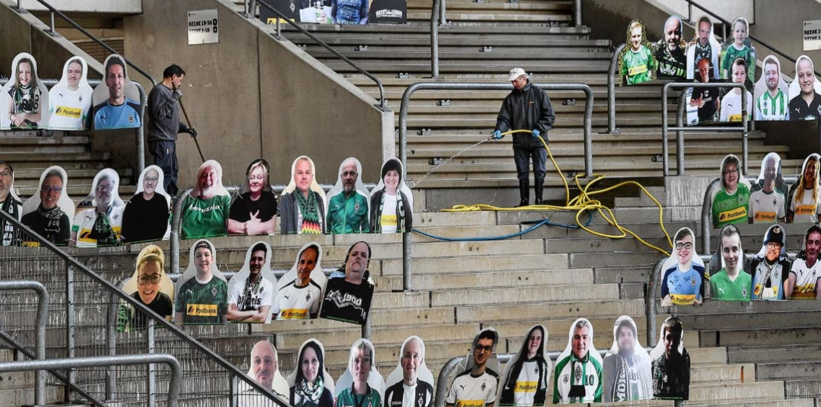 Men's Football Fans will be missed as German Bundesliga restarts ...