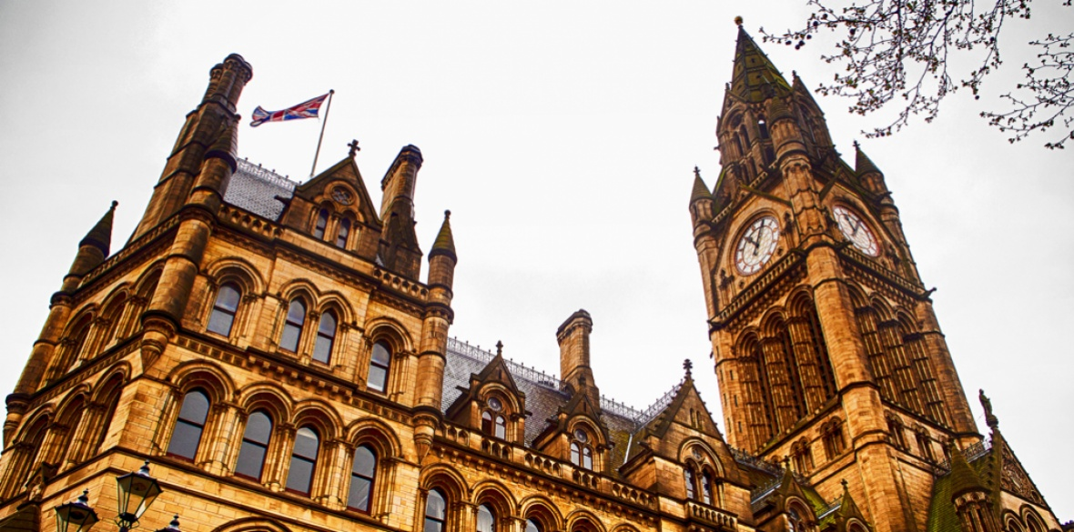 Manchester, England town hall