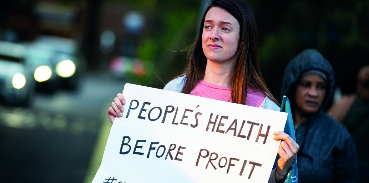 People's health before profit