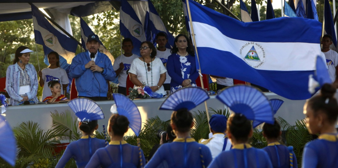 Nicaragua demands OAS boss quit for calling for military