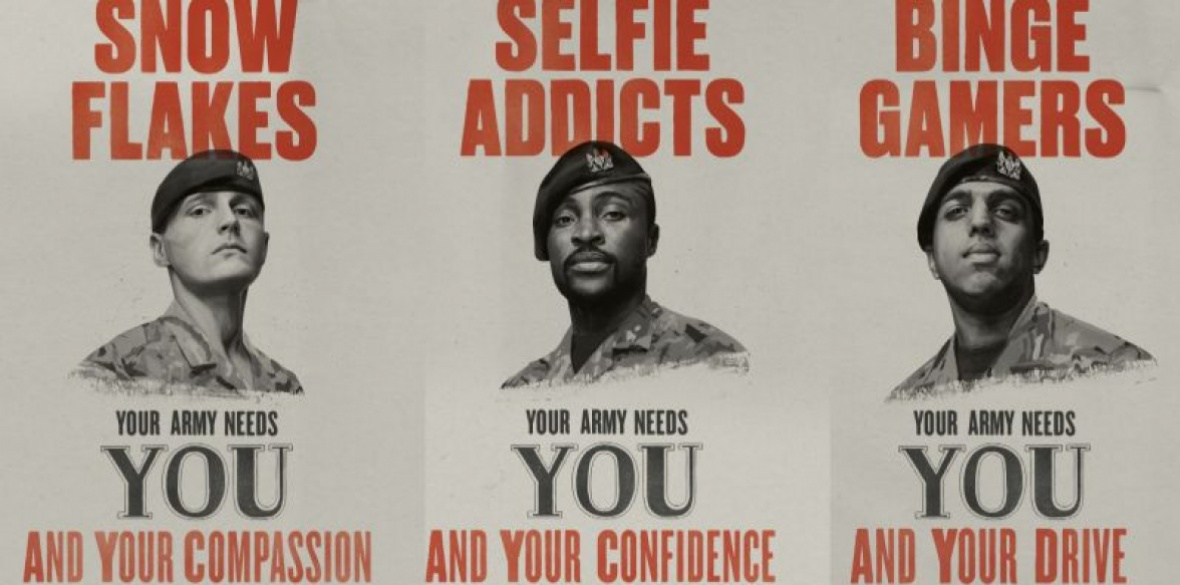British Armys Millennial Recruitment Campaign Branded Patronising