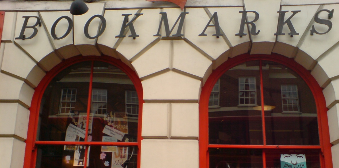 The shopfront of socialist bookshop Bookmarks Photo: secretlondon123/Creative Commons