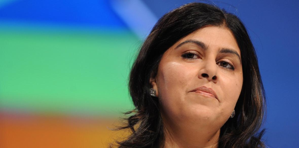British Tory Peer Baroness Warsi