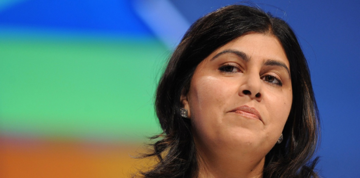 British Conservative peer Sayeeda Warsi