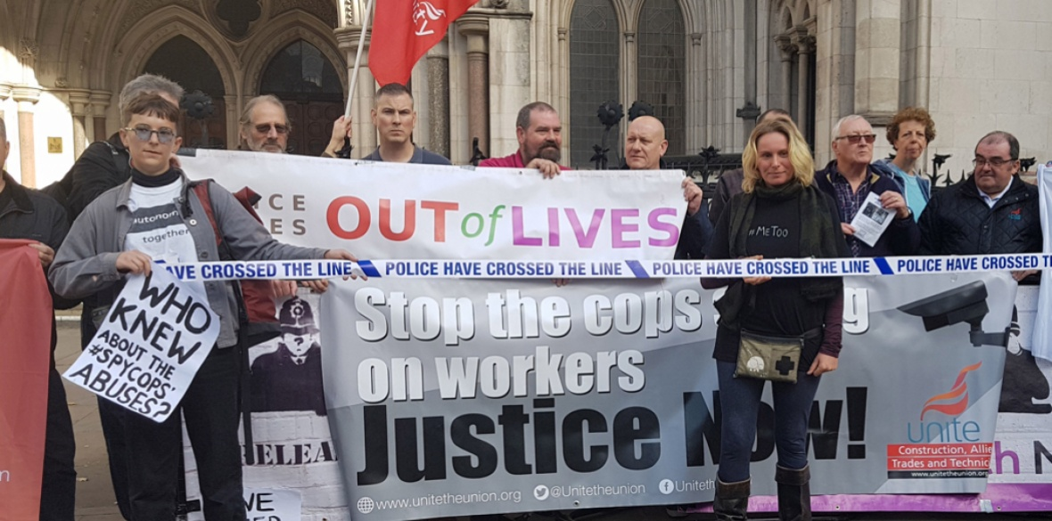 Met Police stored 'intimate emails' between activist and undercover