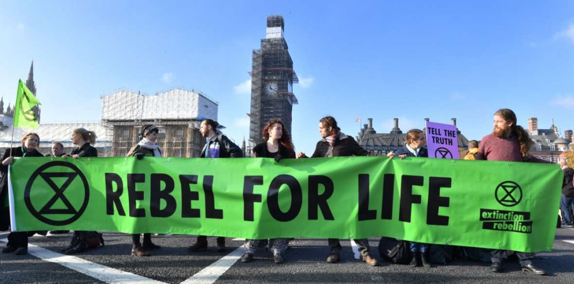 Extinction Rebellion protests Black Friday and the ...