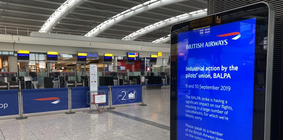 BA flights crippled as pilots launch 48-hour strike
