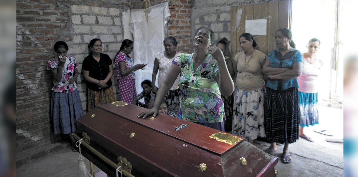 Tamils in London fear family and friends among dead in Sri