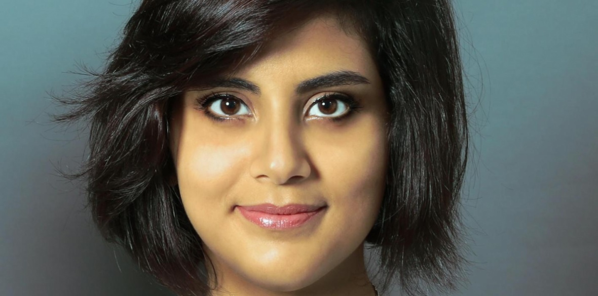 Imprisoned Saudi Arabian women's rights activist Loujain al-Hathloul