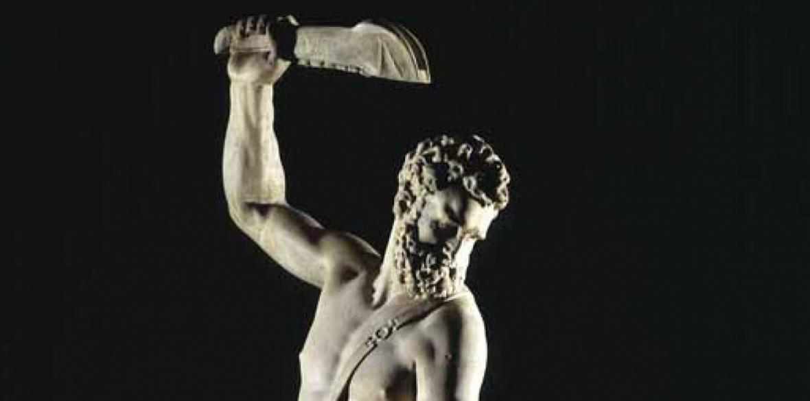 Plunder? Samson Slaying a Philistine by Giambologna c1562, V&A London Photo: Creative Commons