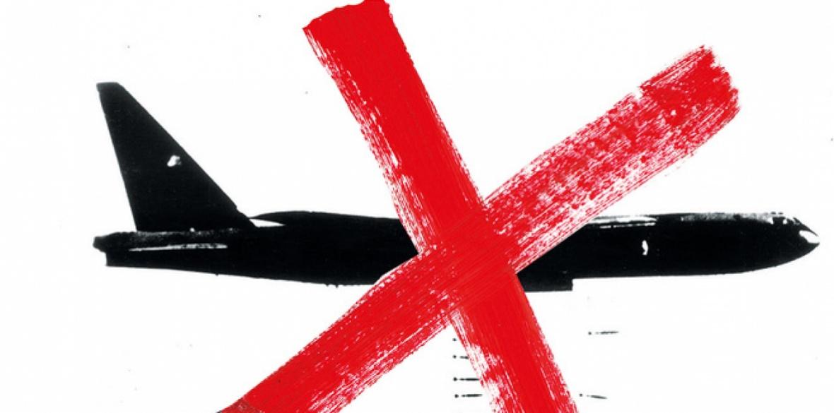Stop warplanes, picture: Peter Kennard