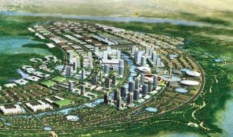 An early plan for a 'garden city'
