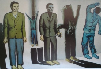 image from Andrzej Wroblewski's Executions