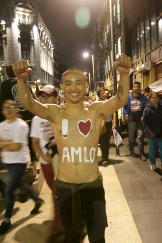Amlo is the affection acronym of Andres Manuel Lopez Obrador