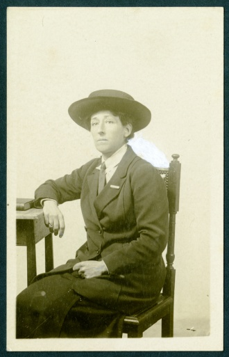 A portrait of Norah Smyth