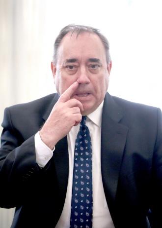 Former Scotland first minister Alex Salmond