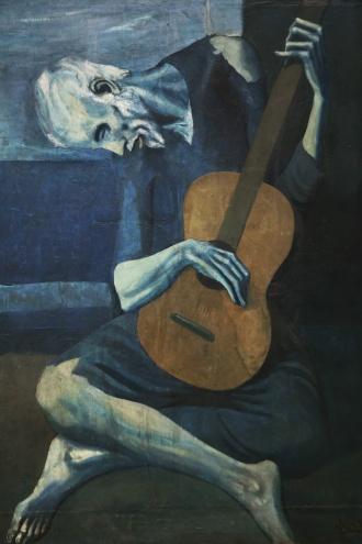 Old Guitarist, Pablo Picasso