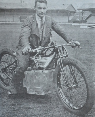 Anti-fascist martyr and speedway racer Clem Beckett