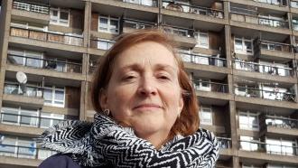 Emma Dent Coad at Trellick Tower