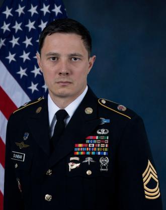 Master Sergeant Jonathan J Dunbar died in the same blast as Matt Tonroe