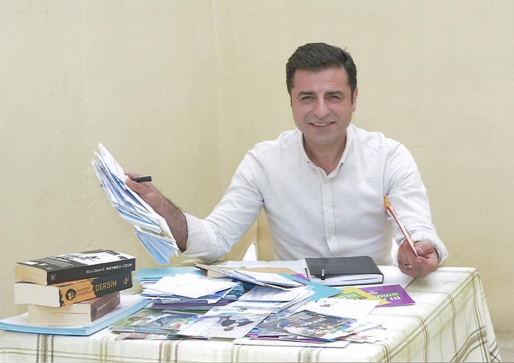 Jailed HDP leader Selahattin Demirtas