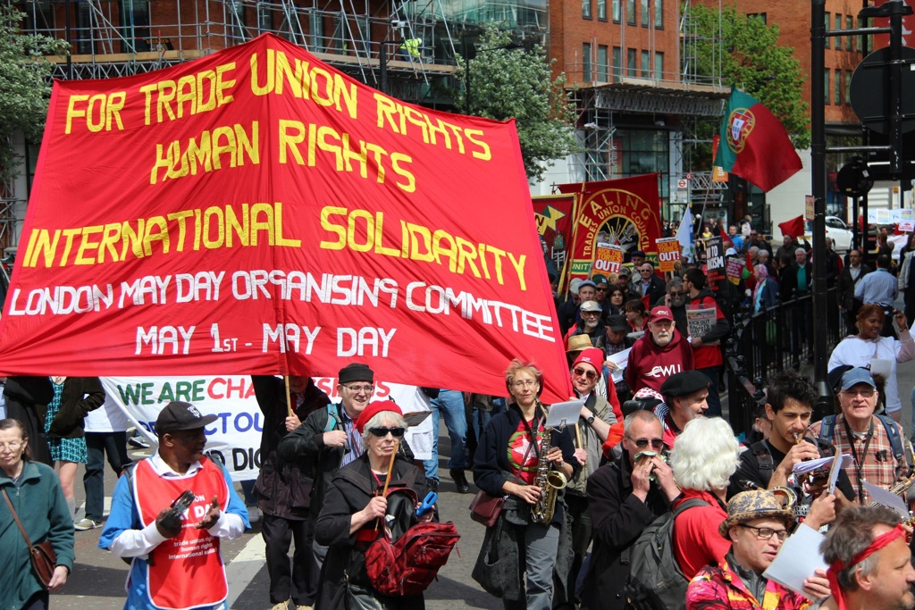 London 2018 May Day march