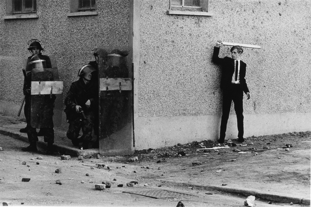The Bogside, Derry, 1971