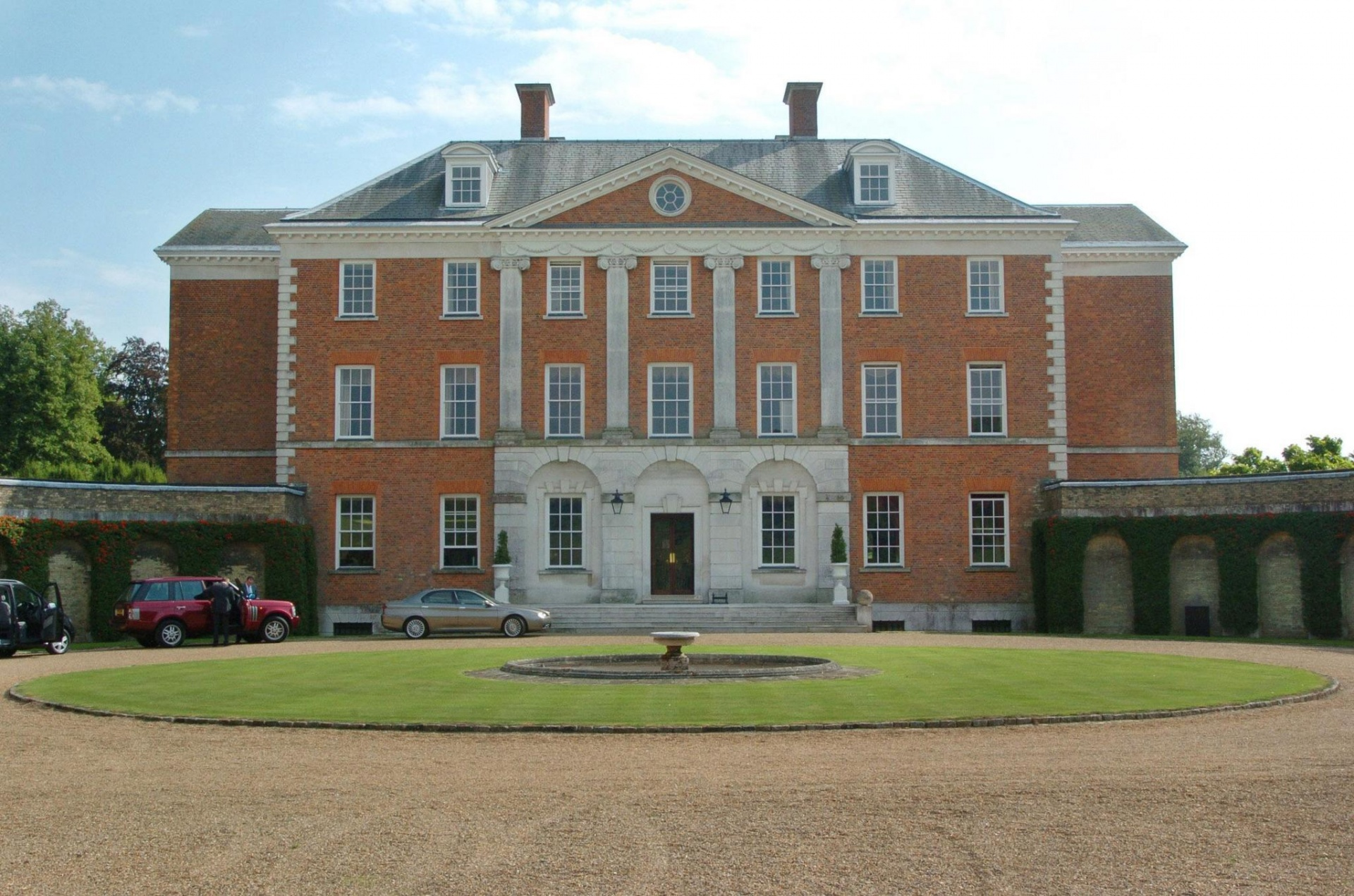 Chevening House in Kent (the country retreat usually used by the Foreign Secretary) where Boris Johnson has been 'dividing his time'