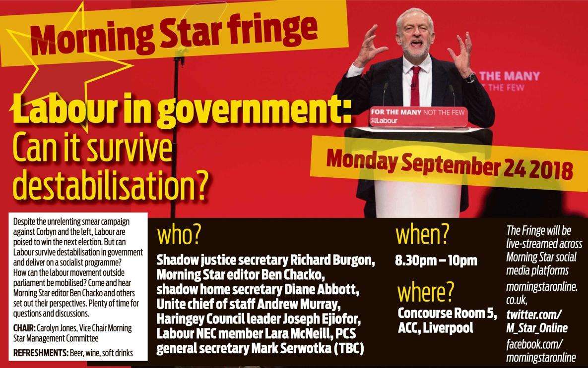 Labour Fringe