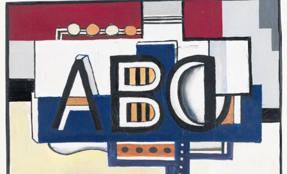 ABC, by Fernand Leeger, 1927