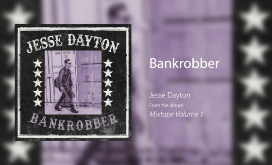 "Jesse Dayton ""Bankrobber"" The Clash cover [OFFICIAL AUDIO]"