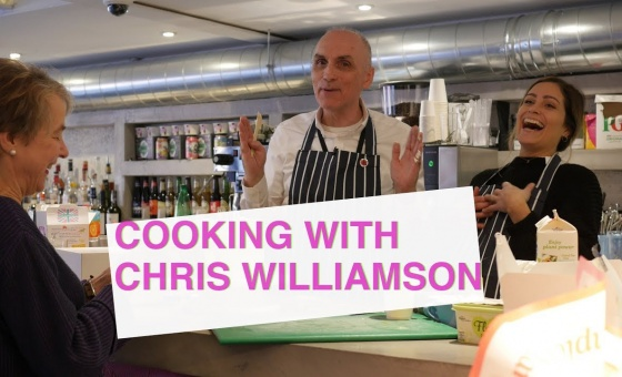 Cooking with Chris Williamson – Vegan Carrot Cake