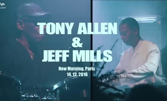 Jeff Mills & Tony Allen @ New Morning