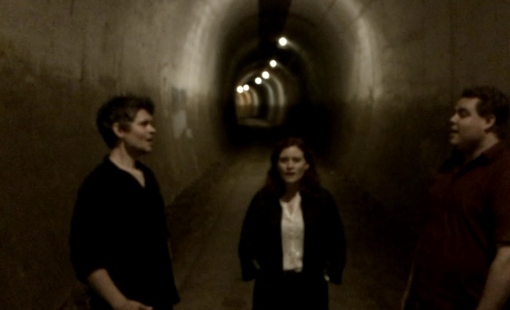 The Dovetail Trio - Death & The Lady (Live In A Tunnel)