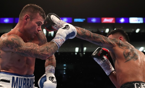Martin Murray fights Roberto Garcia